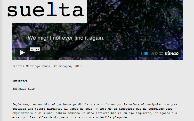 REVISTA SUELTA (2014)